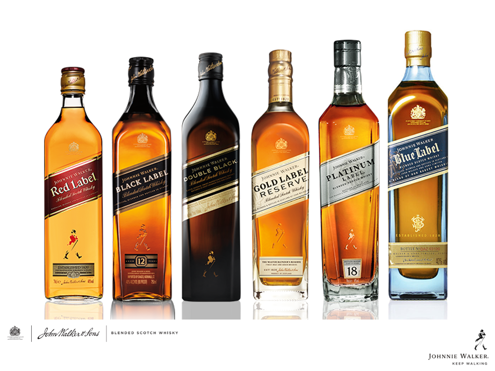 Johnnie Walker Colours