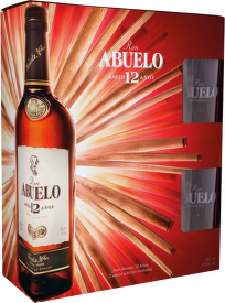 Abuelo 12 Years Old 0,7l + sklenice