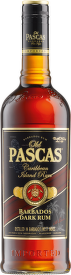 Old Pascas Barbados Dark Rum 0,7l