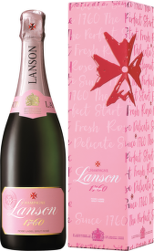 Lanson Rosé Label Brut box 0,75l