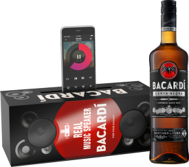 Bacardí Carta Negra Music box 0,7l