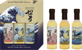 Matsui Japanese whisky 3 x 20cl