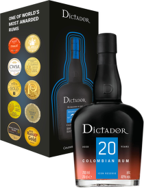 Dictador 20 Years Old 0,7l