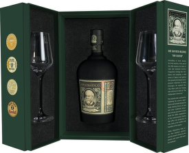 Diplomático Reserva Exclusiva Perfect Ritual Pack 0,7l + 2 sklenice