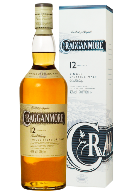 Cragganmore 12 Years Old, Speyside 0,7l