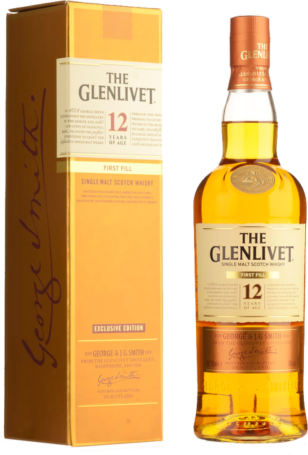 Glenlivet 12 Years Old Exclusive Edition First Fill 0,7l