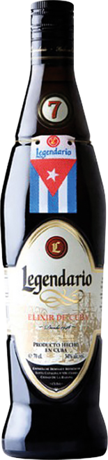 Legendario Elixir de Cuba 7 Years Old 0,7l