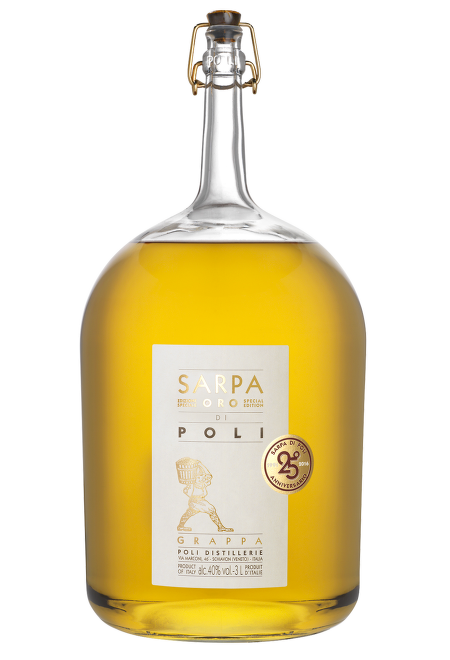 Grappa Sarpa Oro Big 3l