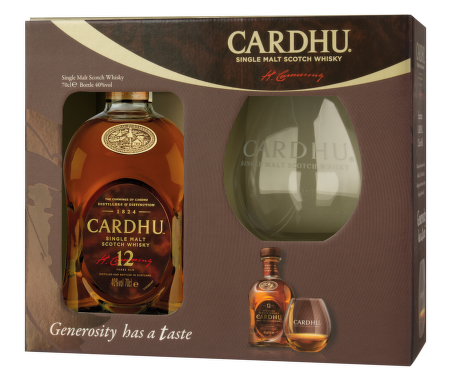 Cardhu 12 Years Old + sklenice 0,7l