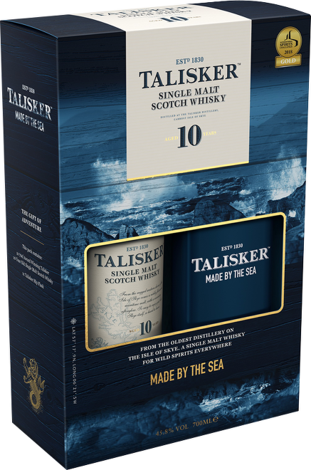 Talisker 10 Years Old 0,7l + placatka