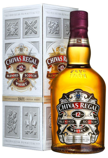 Chivas Regal 12 Years Old 0,7l