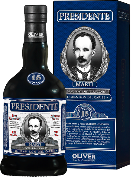 Presidente Marti 15 Years Old 0,7l