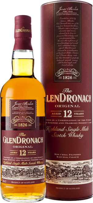 Glendronach 12 Years Old 0,7l