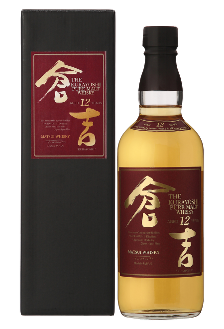 Kurayoshi Pure Malt 12 Years Old Japanese Whisky 0,7l