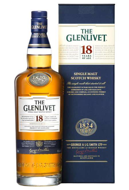 Glenlivet 18 Years Old 0,7l
