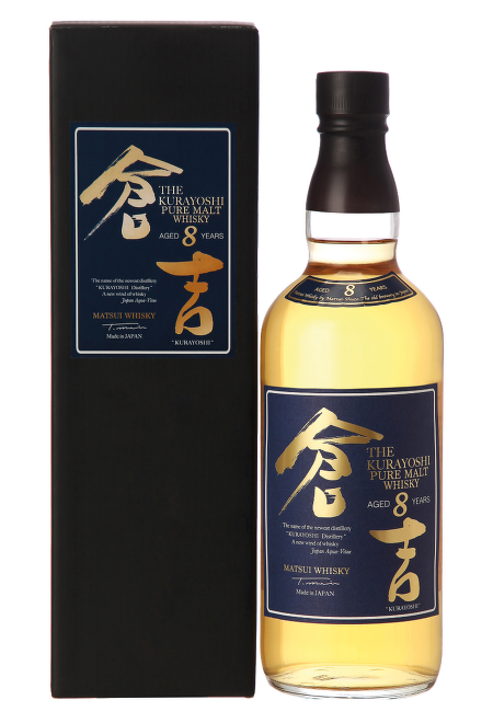 Kurayoshi Pure Malt 8 Years Old Japanese Whisky 0,7l