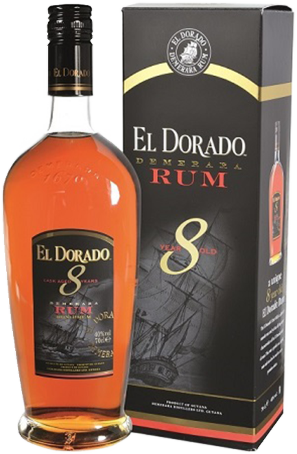 El Dorado 8 Years Old 0,7l