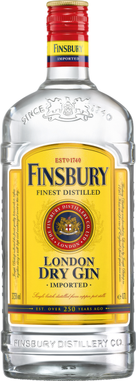 Gin Finsbury London Dry 1l