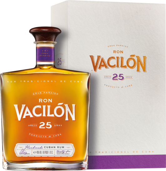 Ron Vacilón 25 Years Old Gran Paraiso, Cuban Rum, 0,7l