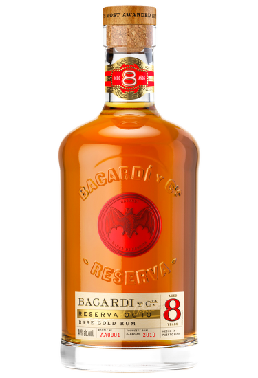 Bacardí Reserva Ocho, 8 Years Old 0,7 l