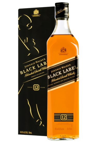 Johnnie Walker Black Label 12 Years Old 0,7l