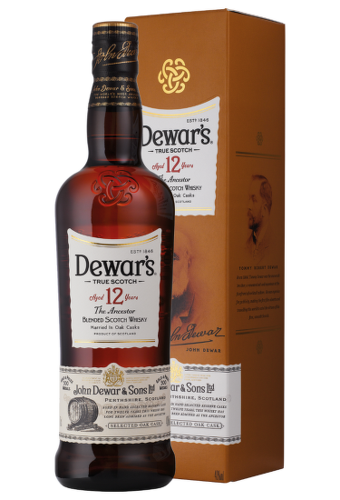 Dewar´s 12 Years Old 0,7l