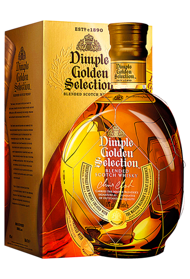 Dimple Golden Selection 0,7l