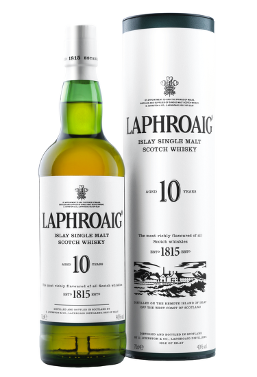 Laphroaig 10 Years Old, Islay Island 0,7 l