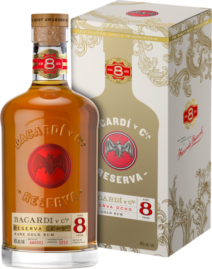 Bacardí Reserva Ocho, 8 Years Old 0,7l