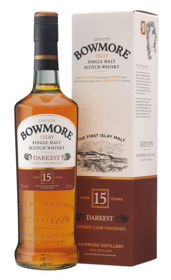 Bowmore 15 Years Old Darkest 0,7l