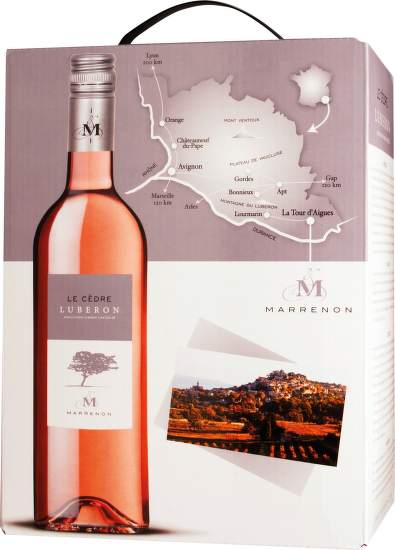 Marrenon Luberon Rosé 5L