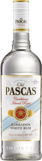 Old Pascas Barbados White Rum 0,7 l