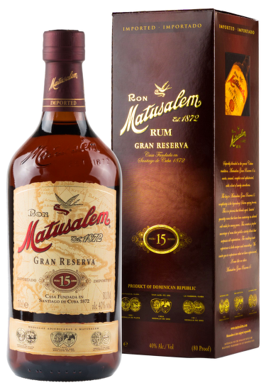 Matusalem Gran Reserva 15 Years Old 0,7l