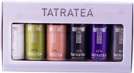 Tatratea mini set mix 6 x 0,04l