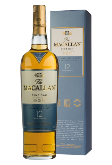 Macallan 12 Years Old Fine Oak 0,7l
