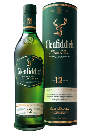 Glenfiddich 12 Years Old 0,7l