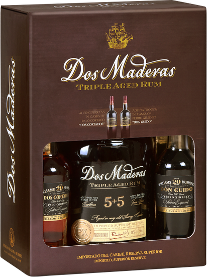 Dos Maderas P.X.5+5 10 Years Old 0,7l + 2 x Sherry 10cl