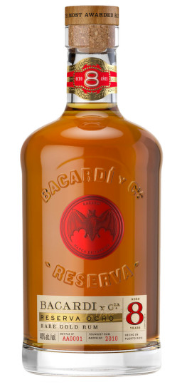 Bacardí Reserva Ocho, 8 Years Old 1l