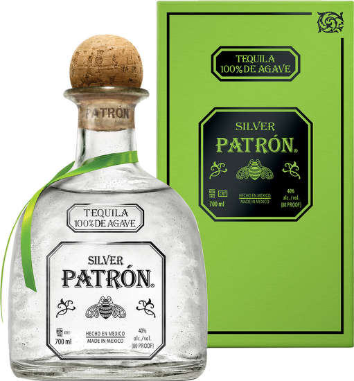 Patrón Silver 100% Agave Tequila 0,7l
