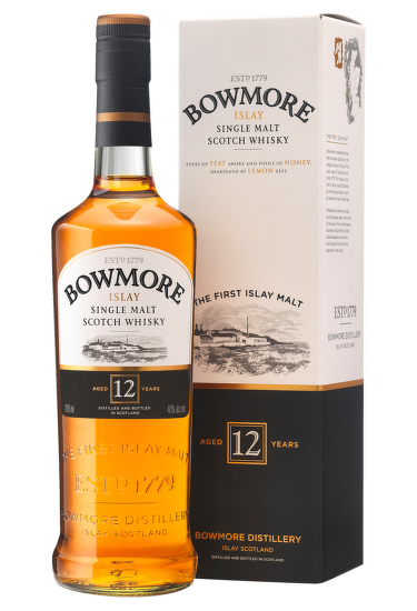 Bowmore 12 Years Old Islay Single Malt Scotch Whisky 0,7l