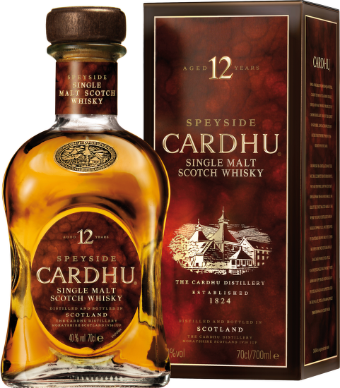 Cardhu 12 Years Old, Speyside 0,7l