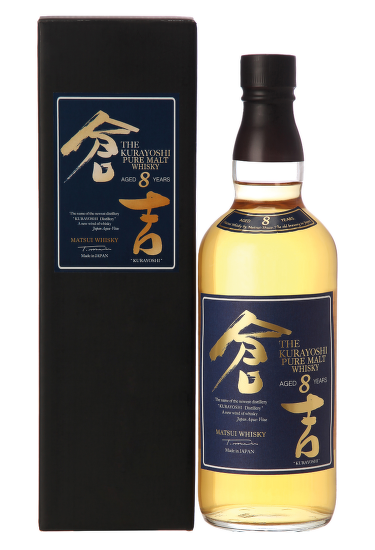 Kurayoshi Pure Malt 8 Years Old, Japanese Whisky 0,7l