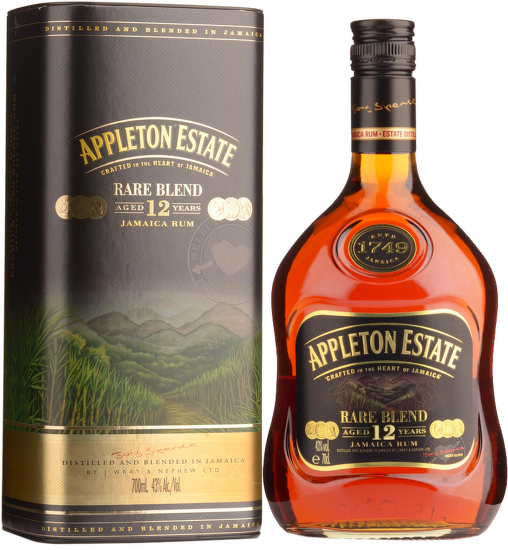 Appleton Estate 12 Years Old Rare Blend 0,7l