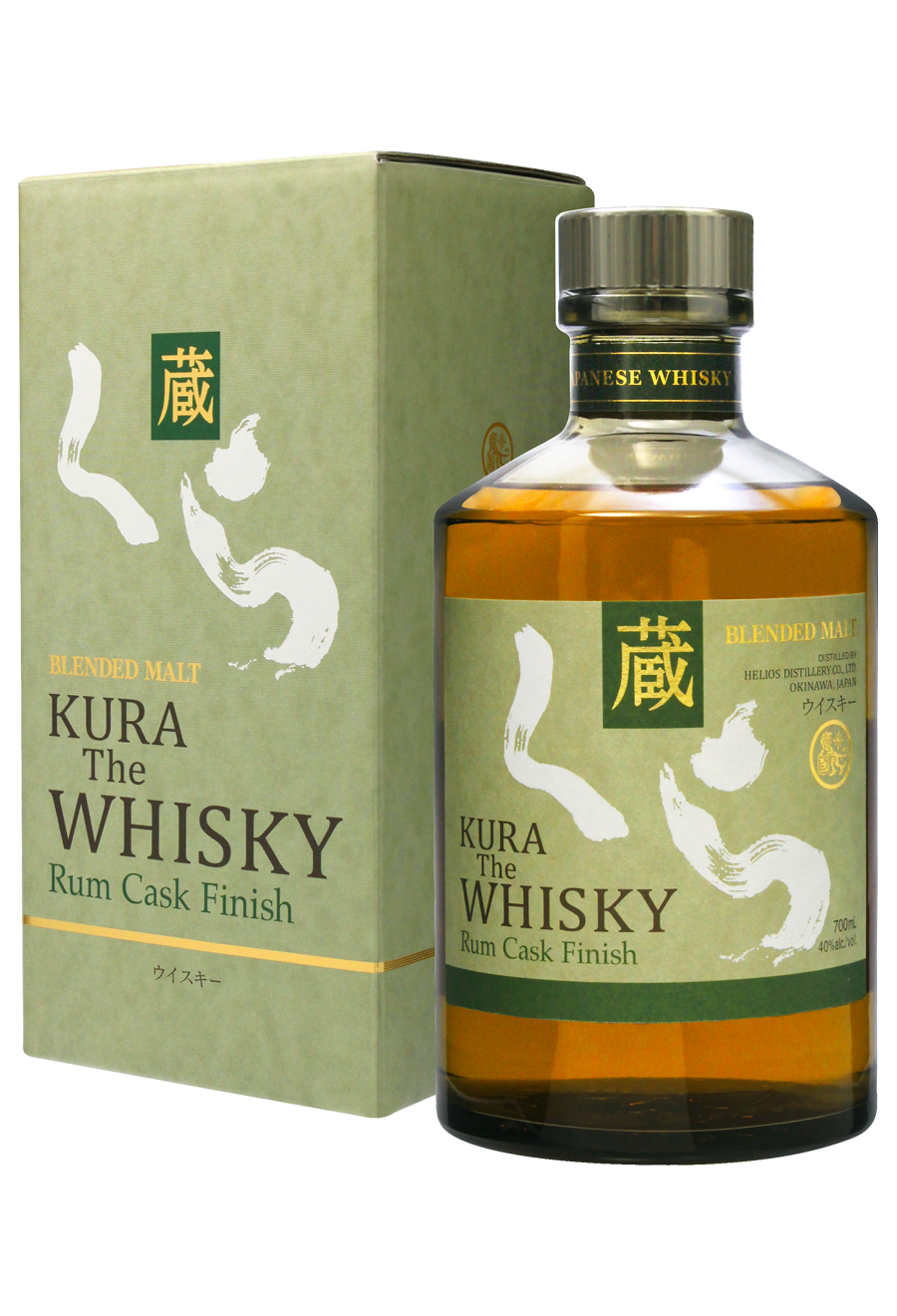 Kura Rum Cask Finish Japanese Whisky 0,7l