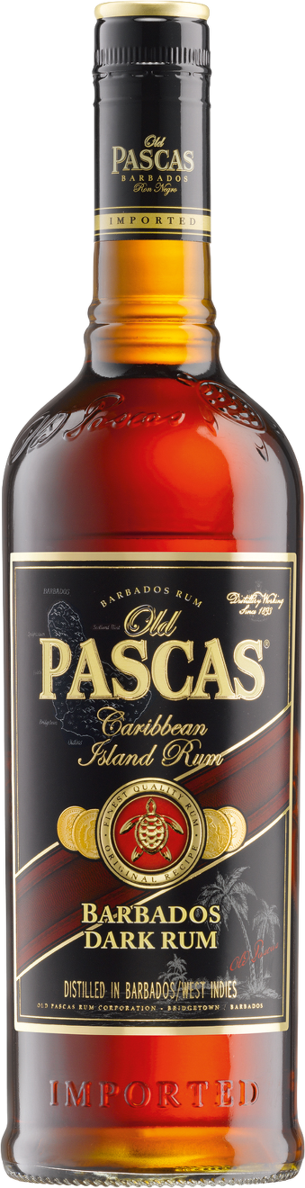 Old Pascas Barbados Dark Rum 0,7 l