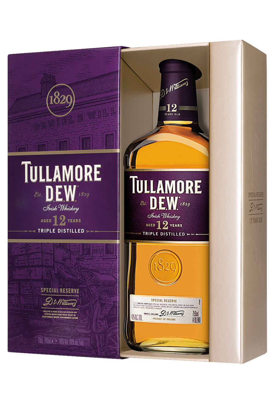 Tullamore Dew 12 Years Old 0,7l