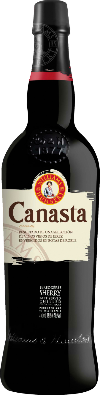 Sherry Canasta Cream Superior Sweet (sladké)