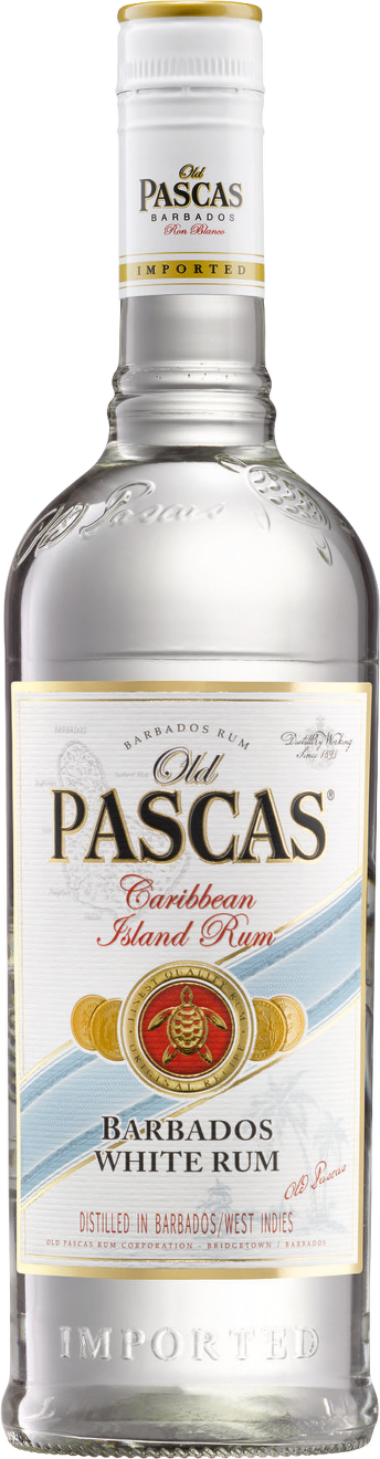 Old Pascas Barbados White Rum 0,7l