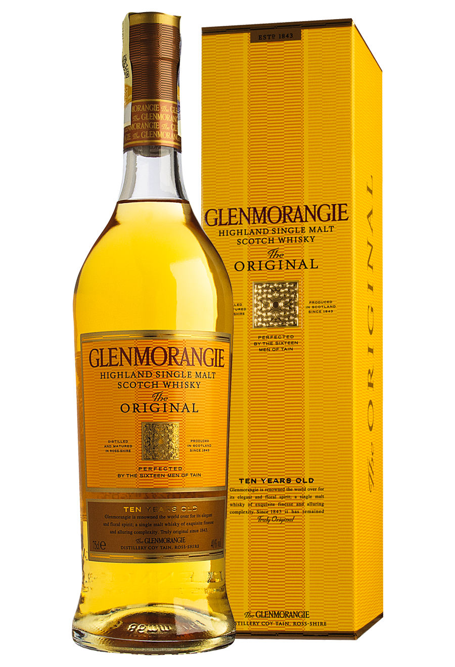 Glenmorangie 10 Years Old 0,7 l