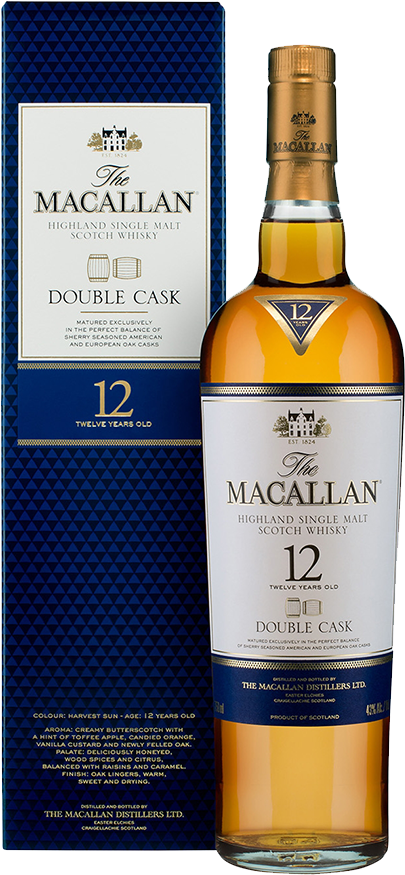 Macallan 12 Years Old Double Cask 0,7l